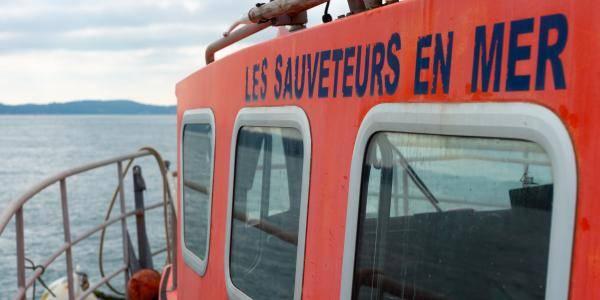 Sauvetage de quatre plaisanciers en baie de Concarneau (29)