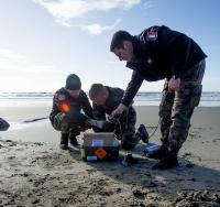 Le déminage sur les côtes, une mission permanente des plongeurs démineurs de la marine